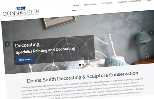 Donna Smith Decorating Launch new website